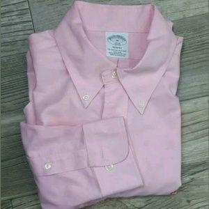 EUC Brooks Brothers Regent M 1818 Dress Shirt Pink